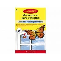 Mata Moscas para Ventanas con Forma de Mariposa Aeroxon (Pack 4 Uds)