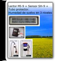 Medidor de Humedad de Suelos 3 Niveles - Measure Instruments