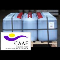 Palet al 50% de Bioestimulante Ecológico Trama y Azahar B-2 y Fe-2, Abono CE. Sin Hormonas. Certificado CAAE. 14 Garrafas X 20 Kg