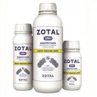 Zotal Zero Desinfectante de Uso Doméstico E Industrial con Olor a Limón 250 Ml