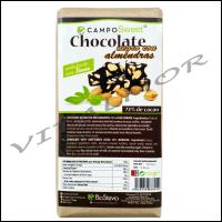 Chocolate Negro con Stevia y Almendras