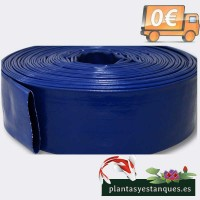 Manguera de Suministro de Agua de PVC, 51mm 15m