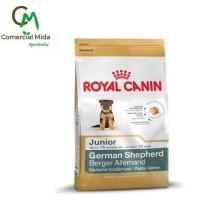 Pienso Royal Canin German Shepherd Junior 12KG Perros Cachorros Raza Pastor Alemán