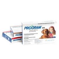 Program 400 Mg Tratamiento contra Pulgas para Perros 6 Comprimidos
