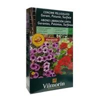 Abono Vilmorin 800g de Liberación Lenta para Geranios, Petunias y Surfinias
