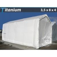 Carpa de Barco Titanium 3,5X8X3X4M, Blanco