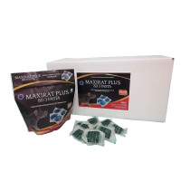 Maxirat PLUS BD-3 Pasta, Cebo en Pasta Fresca, Brodifacoum, Bolsa 150 Gr (10 X 15 Gr), Caja 24 Bolsas