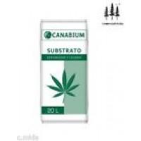 Substrato Esponjoso y Ligero Canabium 20L para Plantas Cannabis