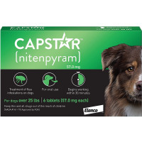 Capstar 57 Mg Comprimidos para Perros Grandes
