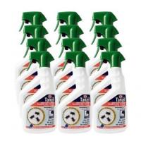 Insecticida Tanzil contra Ácaros del Polvo, Voladores y Rastreros - Pack Ahorro 12 X 750 Ml