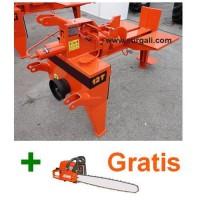 Rajadora Profesional de Leña para Tractor 12 Ton + Motosierra Gratis