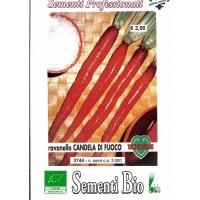 Semillas Ecologicas de Rábano Candela de Fuego- 3000 Semillas