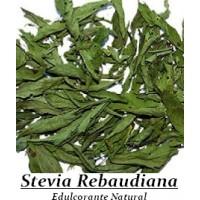 100 Gr. de Estevia. Hojas Secas de Stevia Rebaudiana.