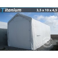 Carpa de Barco Titanium 3,5X10X3,5X4,5M, Blanco