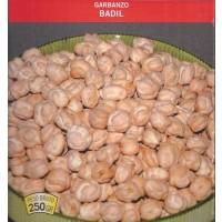Garbanzo Badil. Envase de 250 Gramos. de Semillas para Siembra.