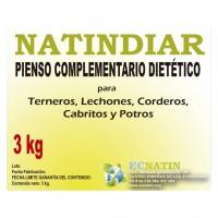 Natindiar  Antidiarreico, Rehidratante  y  Preventivo 3 Kg