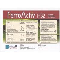 Quelato de Hierro Ecológico: Ferroactiv H32 6 % Eddha
