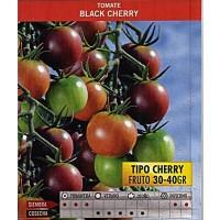 Tomate Black Cherry. Negro. 0,300 Gr. 70 Semillas