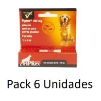 6 Pipetas Fiprex L Spot-On Perros Grandes (20