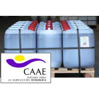 Bioestimulante Ecológico Trama y Azahar Fe-2, Abono CE. Sin Hormonas. Certificado CAAE.  Palet de 14 Garrafas X 20 Kg