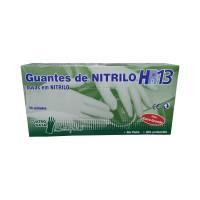 Caja 50 Guantes de Nitrilo HR13 Beholi Alta P
