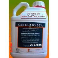 Herbicida Glifosato, 20L Herbicida Glifosato36%