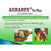 Quelato Hierro FE PLUS 6% Eddha 4,8 O-O.  5Kg Apto Agricultura Ecológica.
