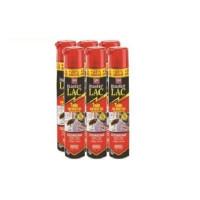 Spray Master LAC 750 Ml - Pack Ahorro 6x (Incluye 150 Ml Gratis) contra Moscas, Cucarachas, Hormigas, Arañas y Pulgas