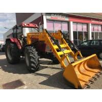 Tractor CASE IH 5140 con Pala