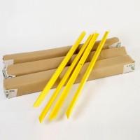Tutor Trampa 150 Cm 16 Uds. Color Amarillo
