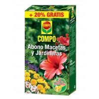 Abono Macetas y Jardineras 250 Gramos Más 50 Gramos Gratis Compo