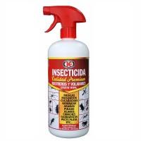 Insecticida en Spray contra Insectos Rastreros y Voladores Premium 500 Ml