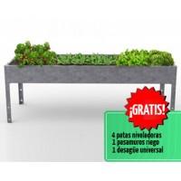 Mesa de Cultivo Magnus 70 Acero Galvanizado | Huerto Urbano