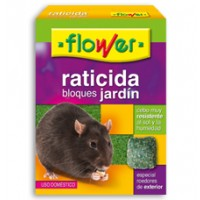Raticida Bloques Jardín de Flower