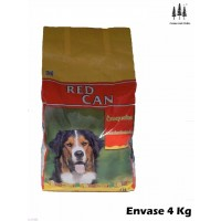 Saco de Pienso 4 KG Comida Mantenimiento para Perros RED Can