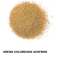 Arena Silice Coloreada Azafran 25 Kg