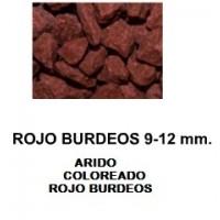Arido Coloreado ROJO Burdeps. 20 L