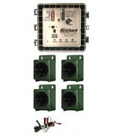 Ahuyentador Bird Gard Super Pro para Tordos, Estorninos y Mirlos (Cobertura 24.000 M2)