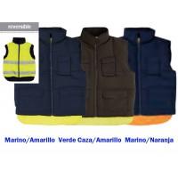 Chaleco Reversible Acolchado y Alta Visibilidad Serie 148