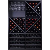 Botellero Merlot Capacidad para 116 Botellas Vino