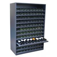 Botellero Merlot Súper Capacidad 108 Botellas