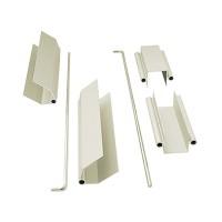 Herraje/bisagra en Aluminio para Separadores. Ref 4104