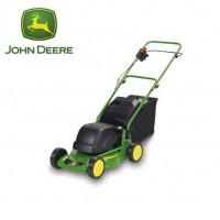 Cortacésped JOHN Deere de Propulsión Manual con Motor Eléctrico. 40 Cm