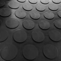Rollo Pavimento de Circulo Negro 15,00X1,50 M