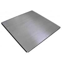 Plataforma PTB Total Inox. 3000 Kg. / 1 Kg. Medidas: 1200X1200 Mm. con Visor Bv510 Inox