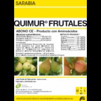 Quimur Frutales, Abono CE Exclusivas Sarabia