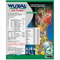 Wuxal AA Foliar, Fertilizante Cheminova