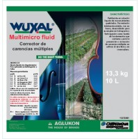 Wuxal Multimicro Fluid, Corrector de Carencias Cheminova
