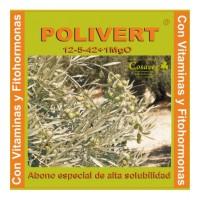 Polivert  12-5-42 + 1% MgO , Abono Sólido Cosaveg