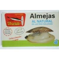 Almejas al Natural de Rias Gallegas Ol-120, 14/15U